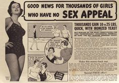 Good news for thousands of girls who have no SEX APPEAL ;)