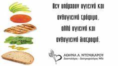 Ας δούμε τη διατροφή μας με άλλο ματι. Καλημέρα, Καλό ΣΚ #quotes, #motivation, #Denikarou
