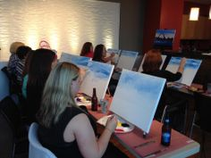Let's PAINT the Town!  2nd Quarter Social Connection at Joe Buck's rooftop.