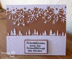 Nelasbasteleien: Weihnachtskarte und Fotomappe