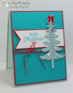 Stampin' Up! Santa's Sleigh Christmas Tree