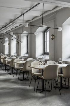 A New Helsinki Restaurant by Laura Seppänen Design Agency New Interior Design, Bar Interior, Restaurant Interior Design, Luxury Interior, Helsinki, Cafe Restaurant, Cafe Bar, Hospitality Design, Cafe Design