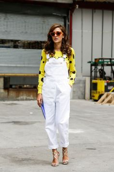 Street Style, New York: 21 colourful snaps outside the Spring 2015 shows // Eleonora Carisi