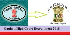 Gauhati High Court Recruitment 2017- Interested candidates can apply for the post on or before 20 December 2017 upto 05:00 PM.
