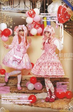 Angelic pretty/Metamorphose temps de fille