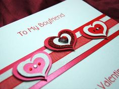 valentine cards for him hand made - Google Search