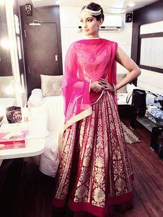Shraddha kapoor, Pastel blue and Bridal fashion on Pinterest
