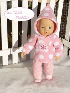 Overall für My Little Baby Born 32cm NEU Puppenkleidung 2 teilig z.B