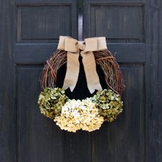 Fall Wreath Front Door Wreath Year Round by NewEnglandHomeAccent