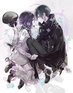 Kokichi and Shuichi