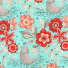 Flirt - FABRIC - designed by Sandy Gervais for Moda Fabrics