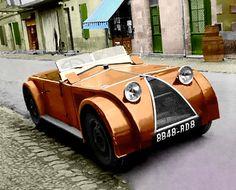 Chenard et Walcker Tank client, voiture routière de the Tank from the Museum at Le mans is painted by me.racing against the Tank of Bugatti and the Laboratoire of Voisin. Strange Cars, Weird Cars, Automobile, Colani, Gilles Villeneuve, Roadster, Car Museum, Cabriolet, Unique Cars