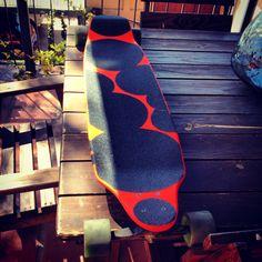 "albird's custom longboards the ""Mae West""  Deck"