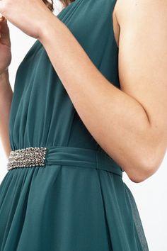 Esprit / Soepele chiffon jurk met sierkraaltjes Chiffon, Black, Dresses, Fashion, Silk Fabric, Vestidos, Moda, Black People, Fashion Styles
