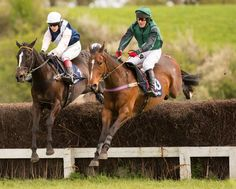 Mervin Woodward was triumphant after a challenging ride on The Pot Black Racing Partnership's 'Palfrey Boy' (right) in the #SubareuRestrictedRace at the Berkeley, Woodford fixture on 25 April. Photo: www.chasdog.com http://subaru.co.uk/outback-15my-teaser/
