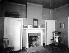 Edgar Allan Poe's Room, University of Virginia from Holsinger Studio Collection · Holsinger's Studio (Charlottesville, Va.) · 1890-1938 · Albert and Shirley Small Special Collections Library, University of Virginia.