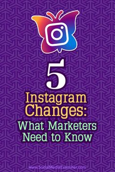 Are you up to date with the latest Instagram changes?  In addition to a brand-new logo, Instagram has rolled out updates to its ad products, video features, and news feed algorithm.  In this article, you'll discover how the most recent Instagram changes can affect your marketing. Via @smexaminer.