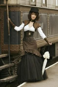 Steampunk Lady #woman