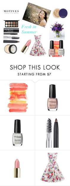 """""""Fresh in Summer"""" by erinswrite on Polyvore featuring beauty, Summer, hot, weather and motives"""