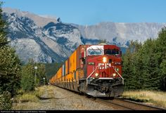 RailPictures.Net Photo: CP 8716 Canadian Pacific Railway GE AC4400CW at Banff, Alberta, Canada by Mathieu Tremblay
