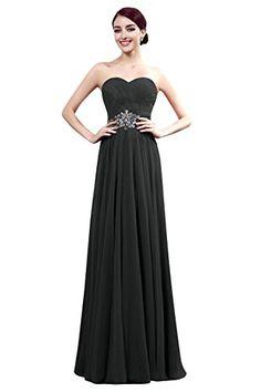 Dora Bridal Women Sweetheart Beading A Line Ruched Chiffon Prom Dresses Evening Gowns Size 2 US Black Dora Bridal http://www.amazon.com/dp/B0142F8992/ref=cm_sw_r_pi_dp_R7Dlwb0RXH5EW