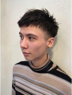 アットラブ(at'LAV by Belle)おしゃれなベリーショート Hair Stations, Shot Hair Styles, Polo Neck, Haircuts For Men, Short Hair Cuts, Hair Beauty, Mens Fashion, Guys, Face