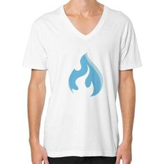 Raysfire Flame V-Neck (on man) Shirt