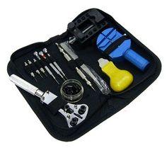 Professionele horloge gereedschap set 30 delig watch tool kit € 18,95  #horloge #gereedschap #hobby