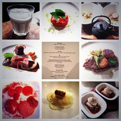 Summary in images of the October 8 course Seasonal Tasting menu @The Milestone.