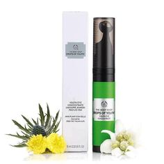 Buy Drops of Youth™ Eye Concentrate from The Body Shop: This eye roller contains plant stem cells known for their anti fatigue properties. For all skin types. The Body Shop, Body Shop At Home, Firming Eye Cream, Skin Firming, Anti Aging Eye Cream, Anti Aging Skin Care, Facial Serum, Eye Serum, Best Face Products