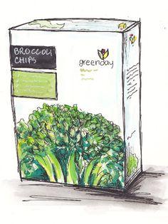 Broccoli Chips...