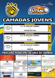 ACR: Futsal [formação] > 10 e11 Mai 2014 #ValeDeCambra #futsal