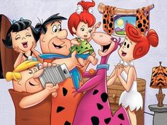 The Flintstones were the modern Stone Age family. Residing in Bedrock, Fred Flintstone worked an unsatisfying quarry job, but returned home to lovely wife Wilma and eventually daughter Pebbles. Cartoon Cartoon, Cartoon Characters, Cartoon Photo, Old Tv Shows, Kids Shows, Cartoon Wallpaper, Os Flinstones, The Flintstones, Smurfs