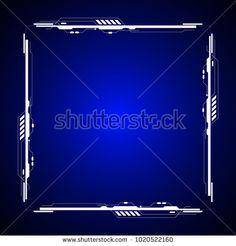 Square technology background design
