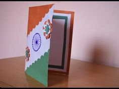 """Welcome to my channel """"H M Souviners"""", DIY Happy Independence Day India, Independence Day Decoration, Diy Arts And Crafts, Fun Crafts, Crafts For Kids, Card Crafts, How To Make Greetings, Art N Craft, Republic Day"""