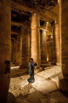 Templo de Seti en Abydos Egypt