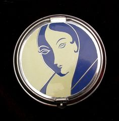 Richard Hudnut Art Deco Compact