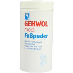 GEHWOL MED Fußpuder:   Packungsinhalt: 100 g Puder PZN: 04102619 Hersteller: Eduard Gerlach GmbH Preis: 5,58 EUR inkl. 19 % MwSt. zzgl.…