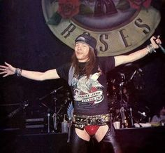 Axl Rose:Well come to the jungle