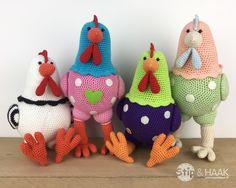 Zijn jullie al klaar voor de pasen?   Kip Katrien wel :-)     Het patroon van deze kip kun je bestellen via mijn website:     KLIK     ...