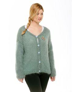 DIY tricot - Gilet Laine Rico Fashion Glitz - Perles & Co