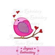 Télécharger instant Love Bird Applique broderie Machine ne Design : 1439