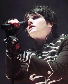 Gerard Way - Black Hair - Parade Era