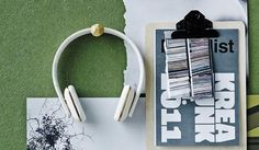 KREAFUNK | aHead Bluetooth Headphones - Army