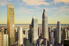The first rendering of Kohn Pedersen Fox's planned 925,630-million square foot development at 343 Madison Avenue has appeared online.