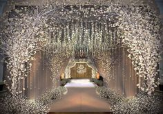 Cherry blossom magic from this luxurious soirée, where #wedding guests were…