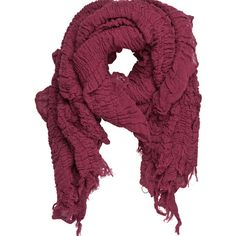 PIECES Ryton Scarf ($22) ❤ liked on Polyvore
