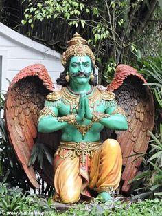 Garuda statue at Mayfair Gangtok Indian Gods, Indian Art, Saraswati Goddess, Durga, Indian Inspired Decor, Moonlight Photography, Lord Ganesha Paintings, Lord Vishnu Wallpapers, Gangtok