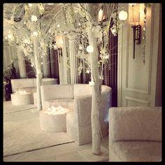 "@p2pjennifer's photo: ""Winter wonderland themed chill out furniture"""