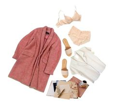 """""""pretty and pink"""" by dreamgal1999 ❤ liked on Polyvore featuring Isabel Marant, agnès b. and Hinge"""